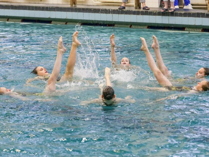 Синхронное плавание (с 13 до 18 лет)