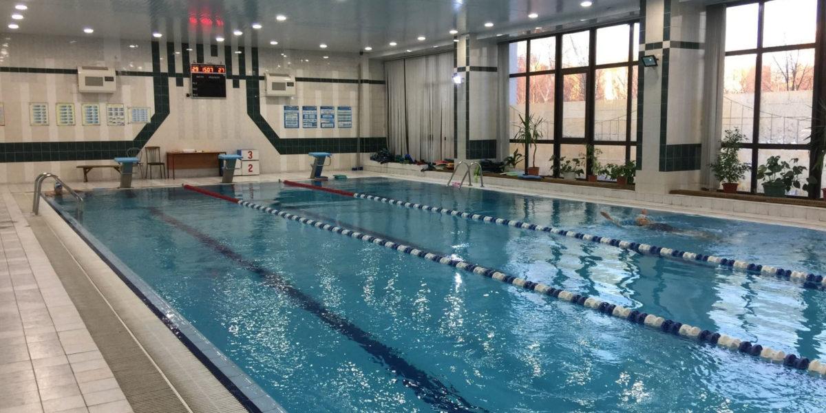 Бассейн «Школа Водных Видов Спорта» на ВДНХ